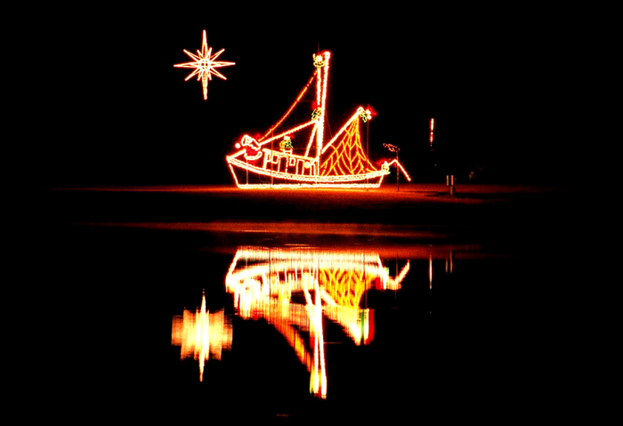 Shrimp Boat Follows Star